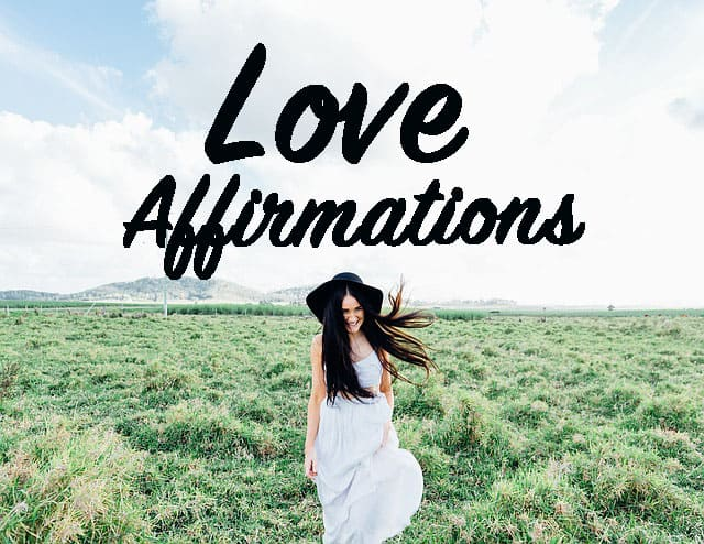 love affirmations for a specific person